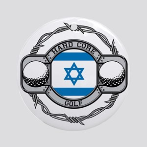 Israel Golf Ornament (Round)