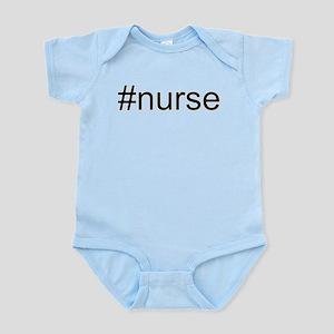 #nurse hash tag Infant Bodysuit