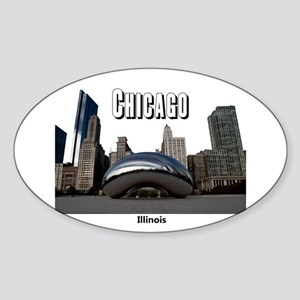 Chicago Sticker (Oval)
