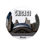 "Chicago 3.5"" Button (100 pack)"
