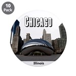 "Chicago 3.5"" Button (10 pack)"