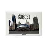 Chicago Rectangle Magnet (100 pack)
