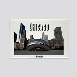 Chicago Rectangle Magnet