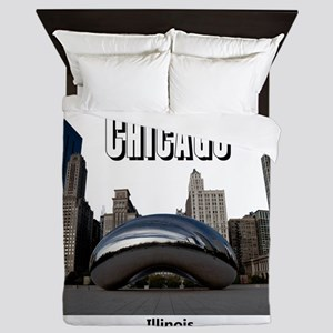 Chicago Queen Duvet