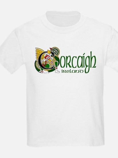 Cork Dragon (Gaelic) Kids T-Shirt