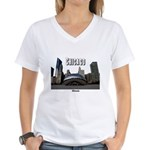 Chicago Women's V-Neck T-Shirt