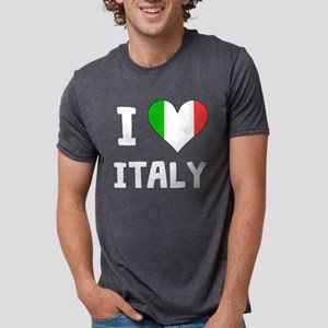 I Heart Italy Mens Tri-blend T-Shirt