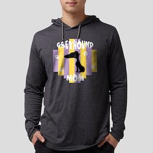 GreyhoundMom2 Mens Hooded Shirt