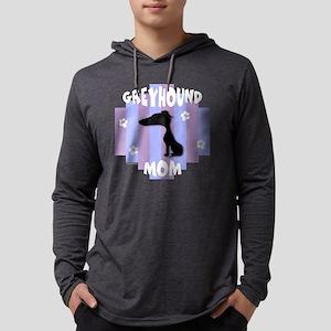 GreyhoundMom3 Mens Hooded Shirt
