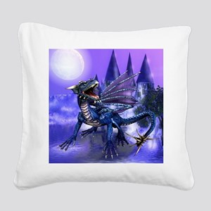 Keeper Of The Castle Square Canvas Pillow