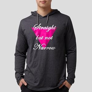 straight Mens Hooded Shirt