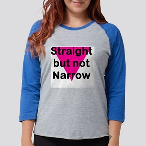 straight1 Womens Baseball Tee