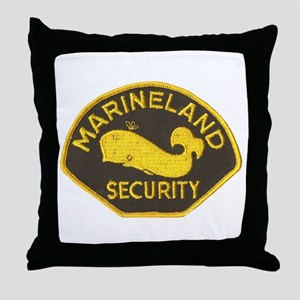Marineland Throw Pillow