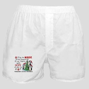 Holiday Penguins Parkinsons Boxer Shorts