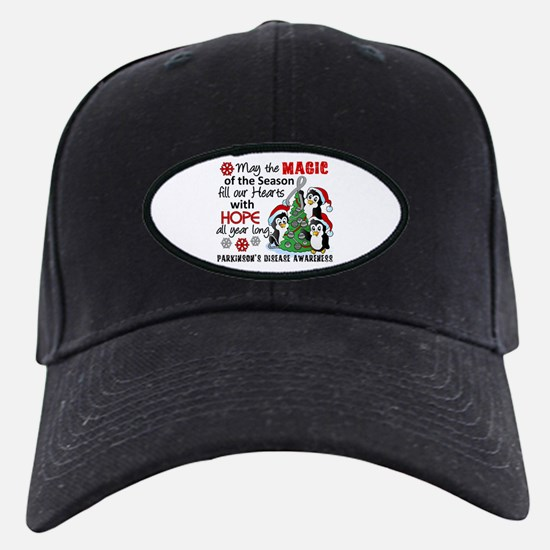 Holiday Penguins Parkinsons Baseball Hat