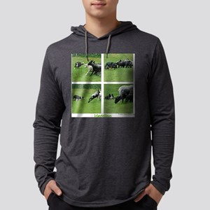 Herding Quad Mens Hooded Shirt