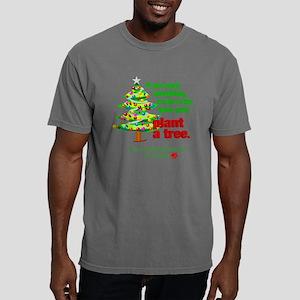 plantatreeovalchristmas. Mens Comfort Colors Shirt