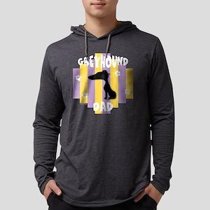 GreyhoundDad2 Mens Hooded Shirt