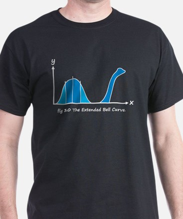 Bell Curve, Science Humor T-Shirt