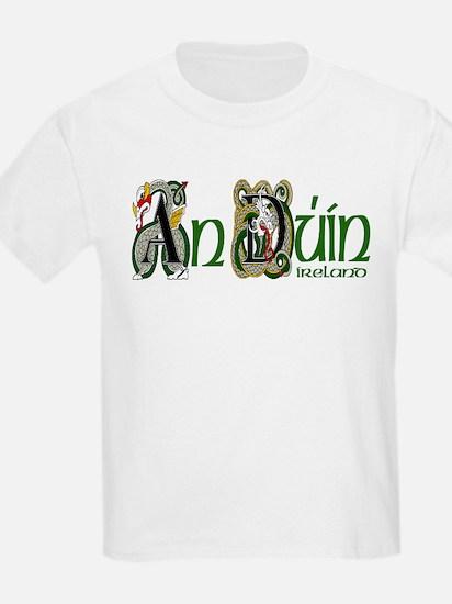Down Dragon (Gaelic) Kids T-Shirt