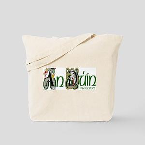 Down Dragon (Gaelic) Tote Bag