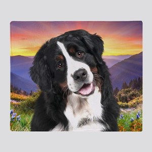 Berner Meadow Throw Blanket