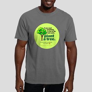 plantatreefrisbee Mens Comfort Colors Shirt