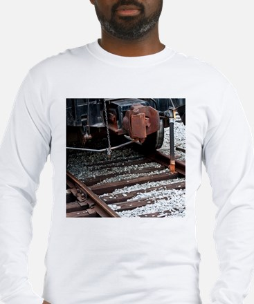 Cool Coal train Long Sleeve T-Shirt