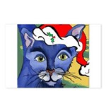 Cat 5 Celebrates Christmouse Postcards (Package of
