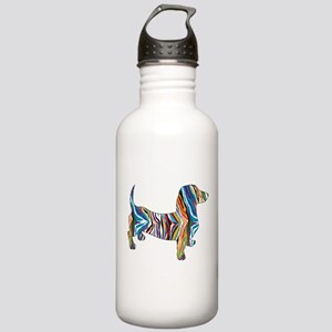 Psychedelic Doxie Dachshund Stainless Water Bottle