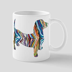 Psychedelic Doxie Dachshund Mug