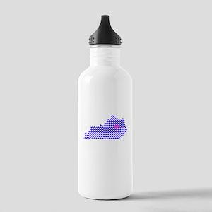 KY Chevron Lexington Stainless Water Bottle 1.0L