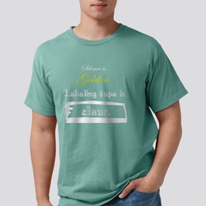 Silence Mens Comfort Colors Shirt
