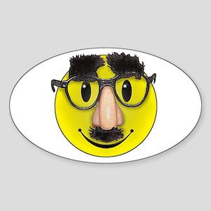 LOL Smilie Oval Sticker