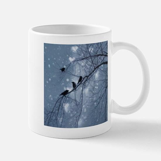 Hearts And Snow Mug