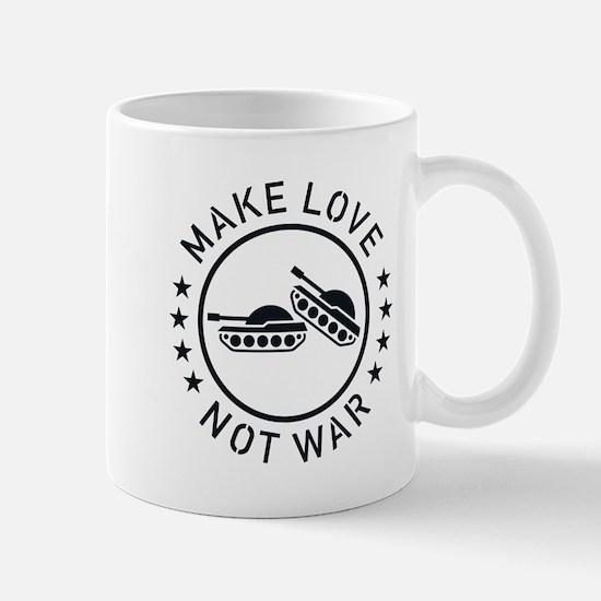 Make Love Not War (1C) Mug