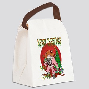 Ho Ho Horror Canvas Lunch Bag