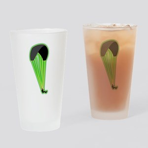 Paragliding Drinking Glass