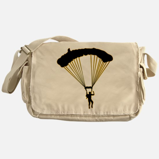 Parachuting Messenger Bag