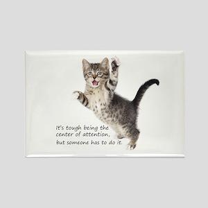 Kitten Rectangle Magnet