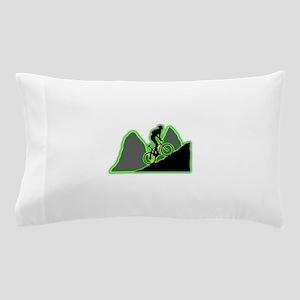 Mountain Biking Pillow Case