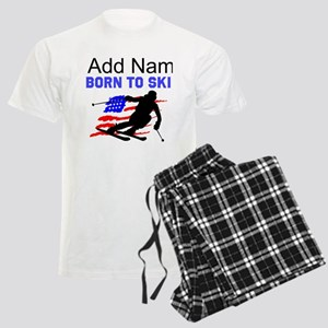 I LOVE SKIING Men's Light Pajamas