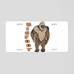 Bigfoot 1 Aluminum License Plate
