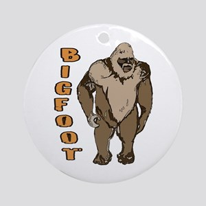 Bigfoot 1 Ornament (Round)
