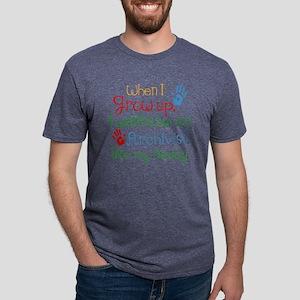 Archivist Like Daddy Mens Tri-blend T-Shirt