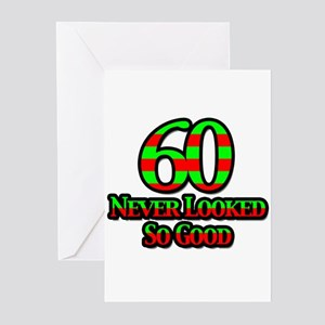 60 Never Looked So Good Greeting Cards (Package of