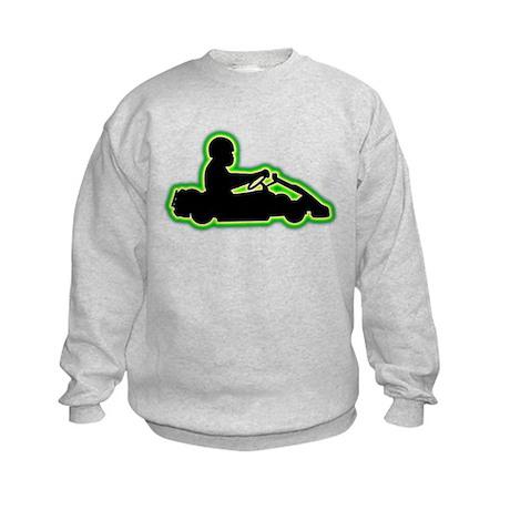Go-Karting Kids Sweatshirt