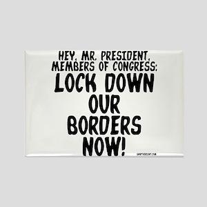 Hey Mr. President Rectangle Magnet