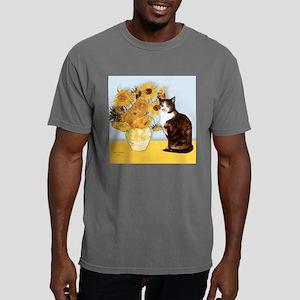 Calico cat Mens Comfort Colors Shirt