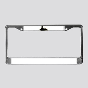 Go-Karting License Plate Frame
